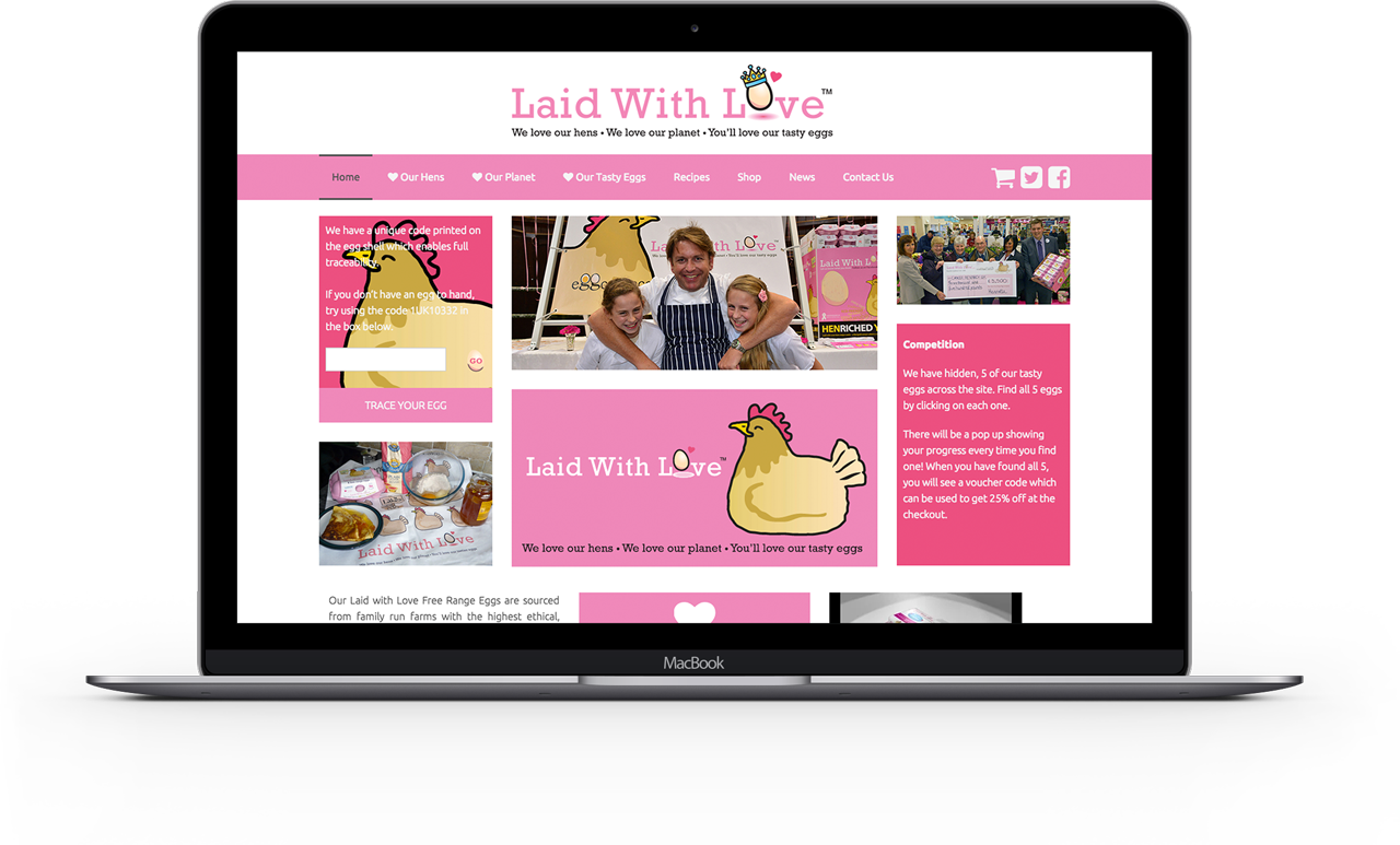 Laid-With-Love-Website-Macbook