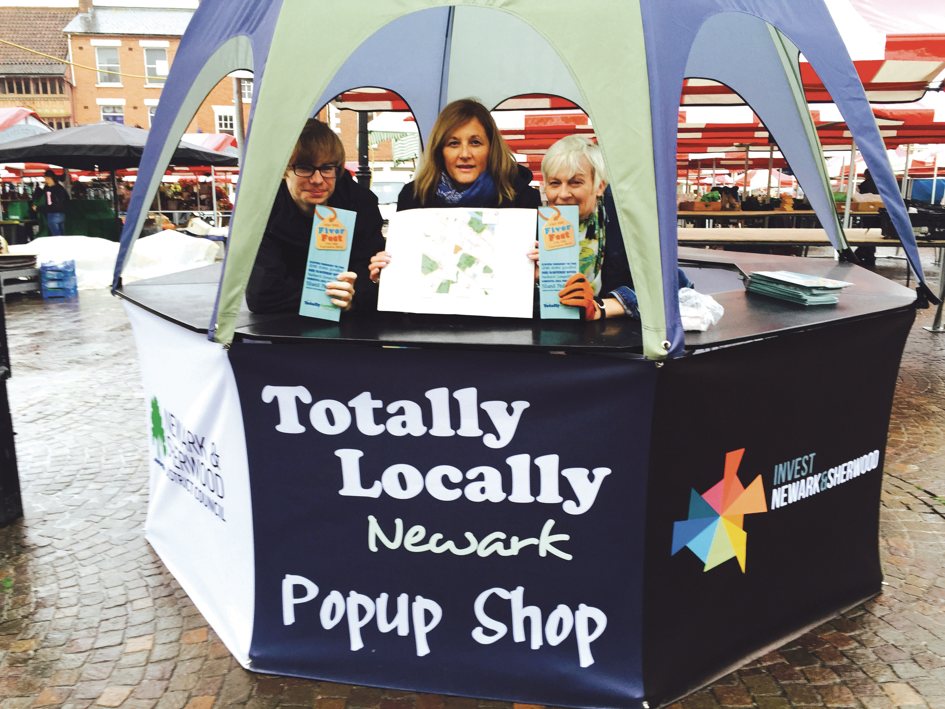 Fiver Fest Boosts Sales For Independent Retailers in Newark