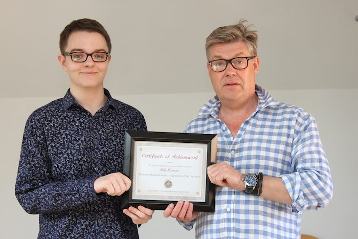 Bazzoo Web Developer Awarded Apprentice of The Year Award