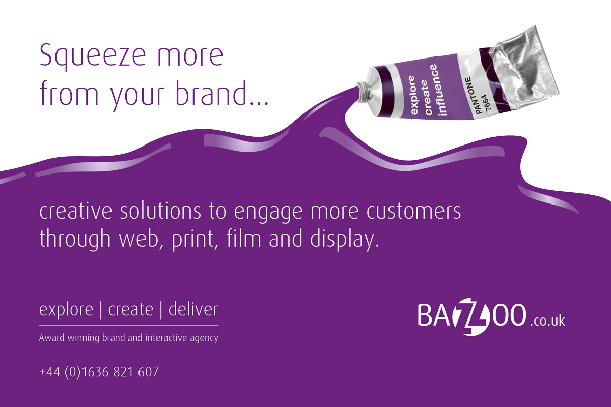 Bazzoo Squeeze More Into Your Brand